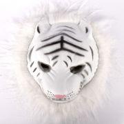 Máscara Bichos Tigre Branco