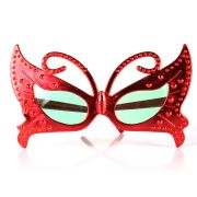 Óculos Chic Borboleta Metalizado