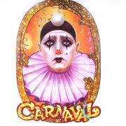 Painel Pierrot Carnaval