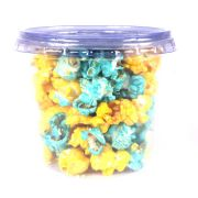 Pipoca Colorida Doce Amarela e Azul 30g