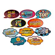 Placas Animadas Mix 2 ( 10Un )