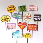 Placas Animadas Mix Frases (12UN)