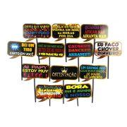 Placas Animadas Mix Ostenta��o (12 un)