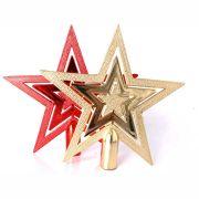 Ponteira Plástica Estrela 15cm - Diversas Cores