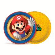 Prato Redondo 18 cm Super Mario 8 unidades