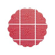 Tapetinho 7Cm Vermelho