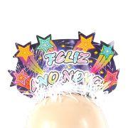 Tiara Feliz Ano Novo Luxo