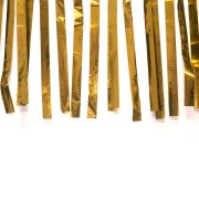 Varal de Fitas Metalizadas Dourada - 10 Metros