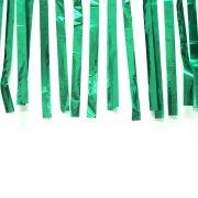 Varal de Fitas Metalizadas Verde - 10 Metros