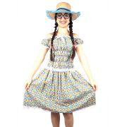 Vestido Adulto Mocinha Sem Bermuda