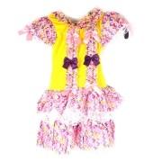 Vestido Junino Infantil Fru Fru