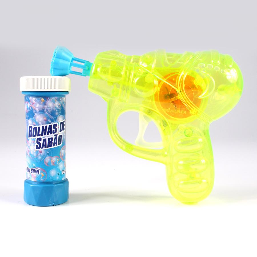 Arma / Revólver De Bolhas De Sabão