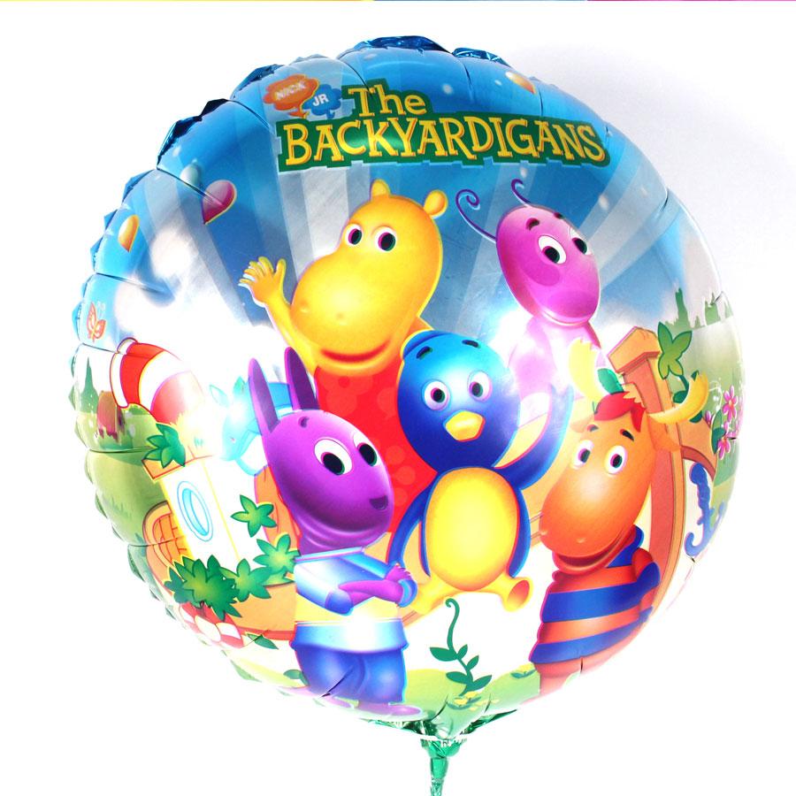 Balão Metalizado Redondo Backyardigans