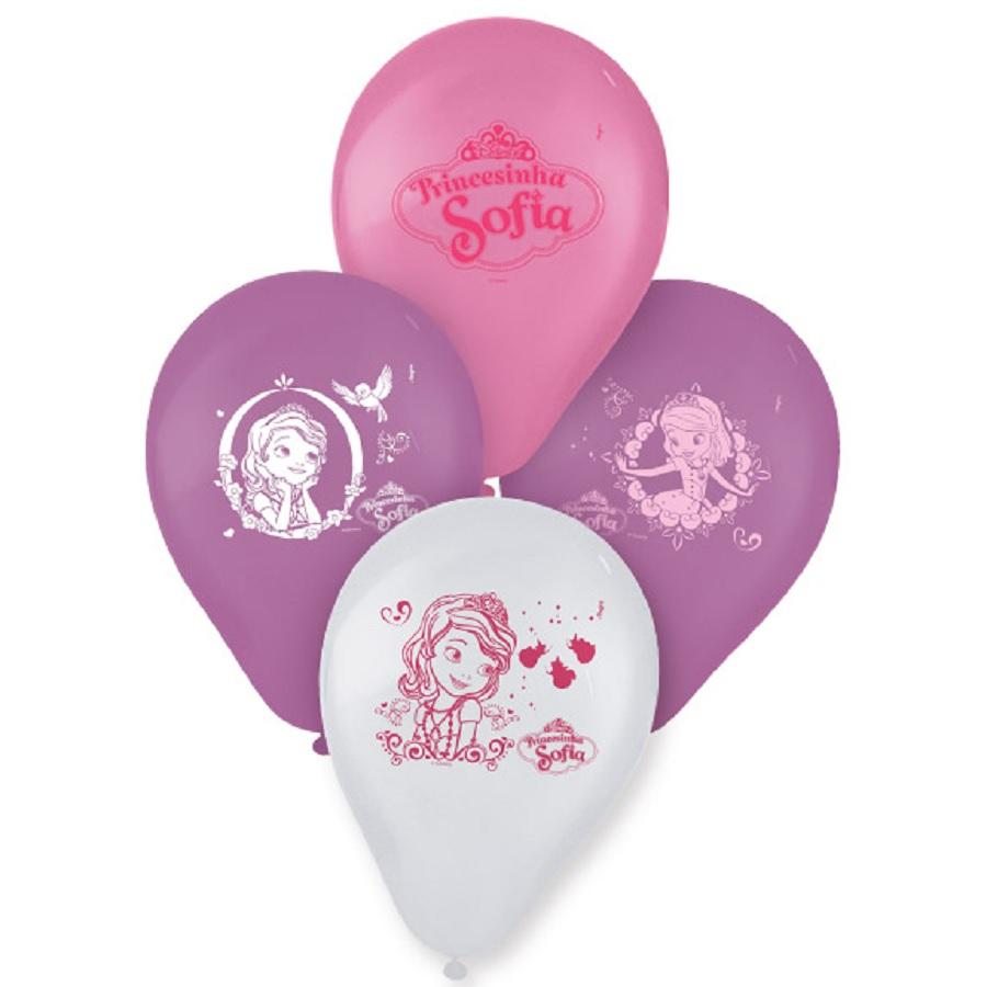 Balão Nº9 Sofia 25Un