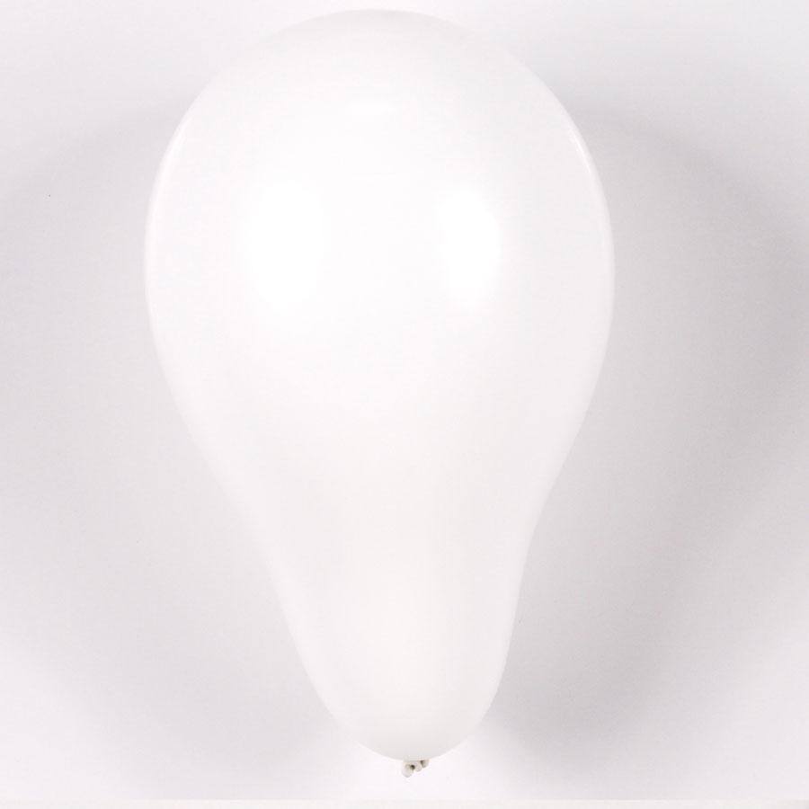 Balão Pic Pic Nº 9 C/ 50Un Branco
