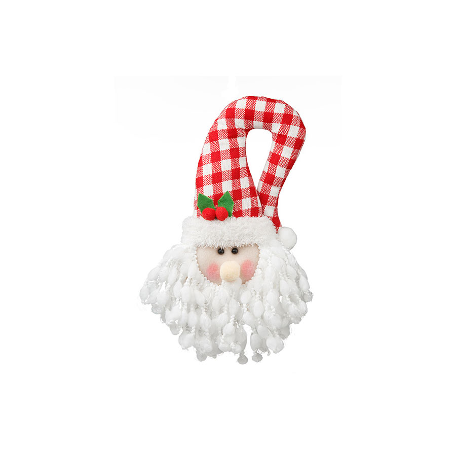 Cabeça Papai Noel Para Pendurar Candy Un