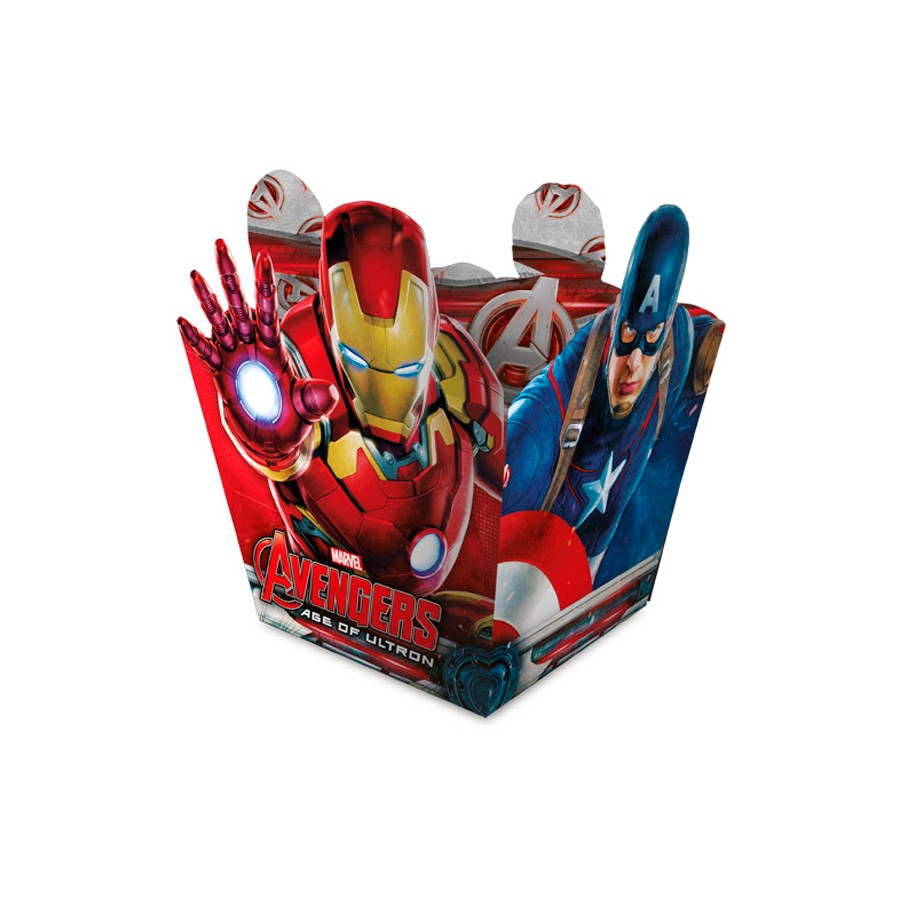 Cachepot Vingadores Avengers 8Un