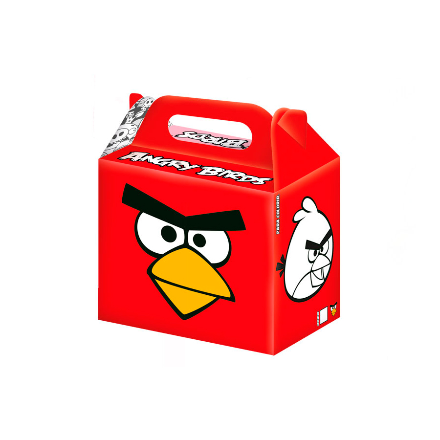 Caixa Surpresa Angry Birds 8Un