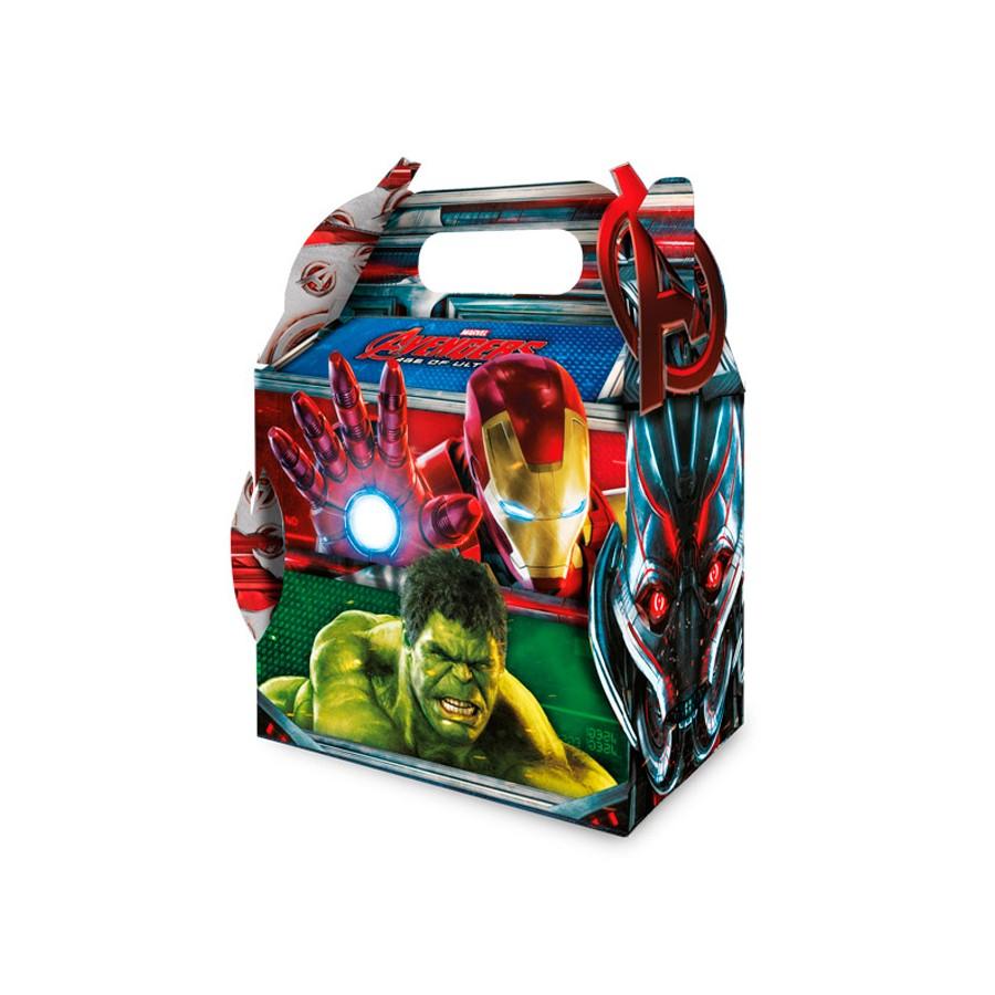 Caixa Surpresa Vingadores Avengers 8Un