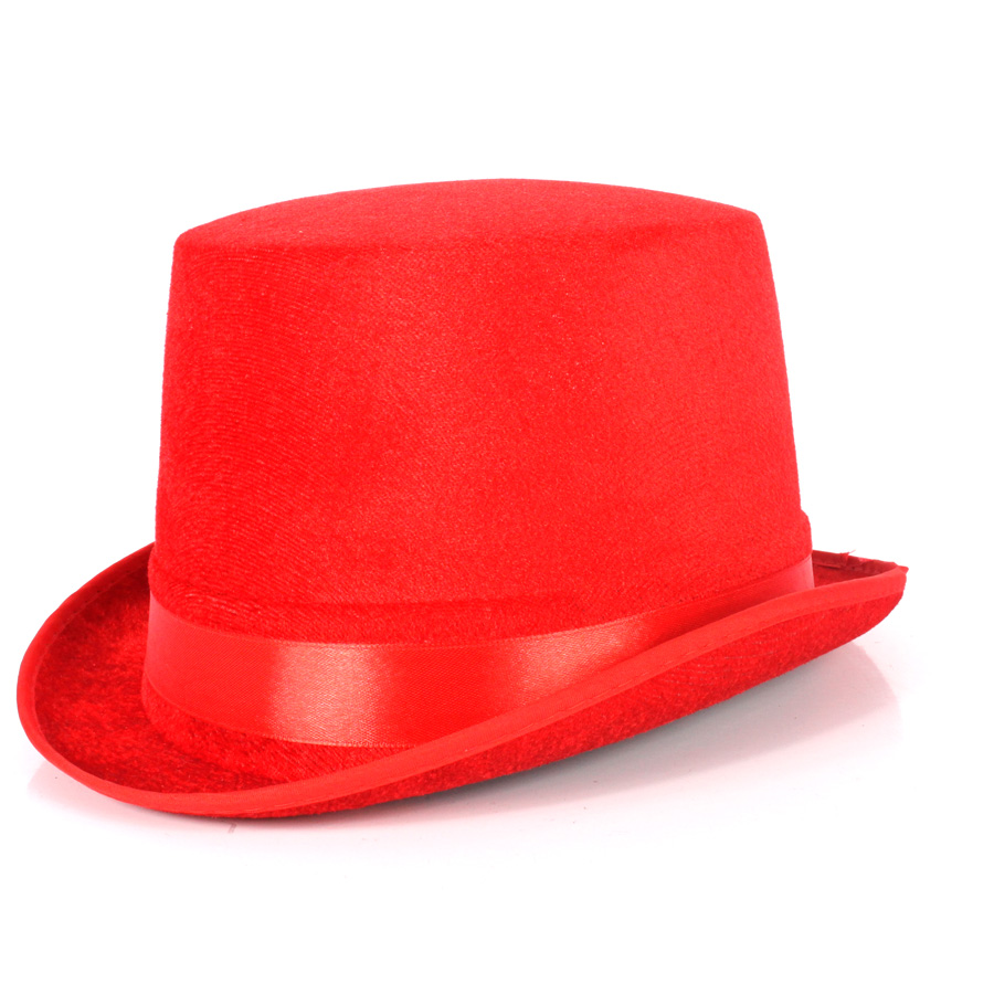 Cartola Mágico Vermelha