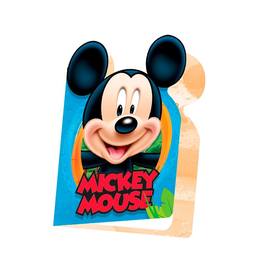 Convite Mickey 8Un