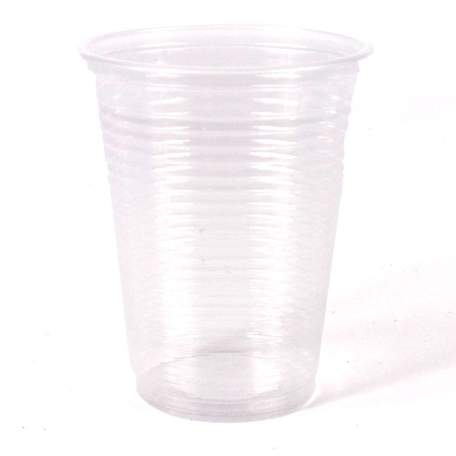 Copo Plástico Transparente 200Ml 100Un