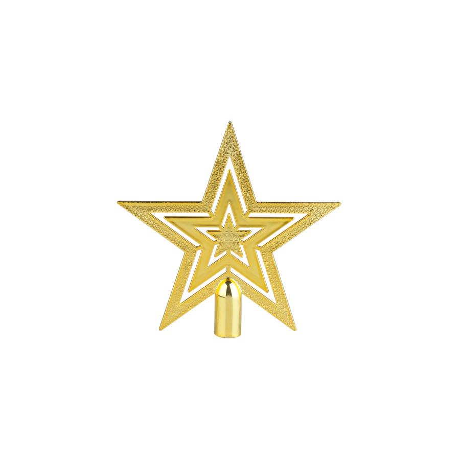 Estrela Ponteira Dourada Magia Unidade