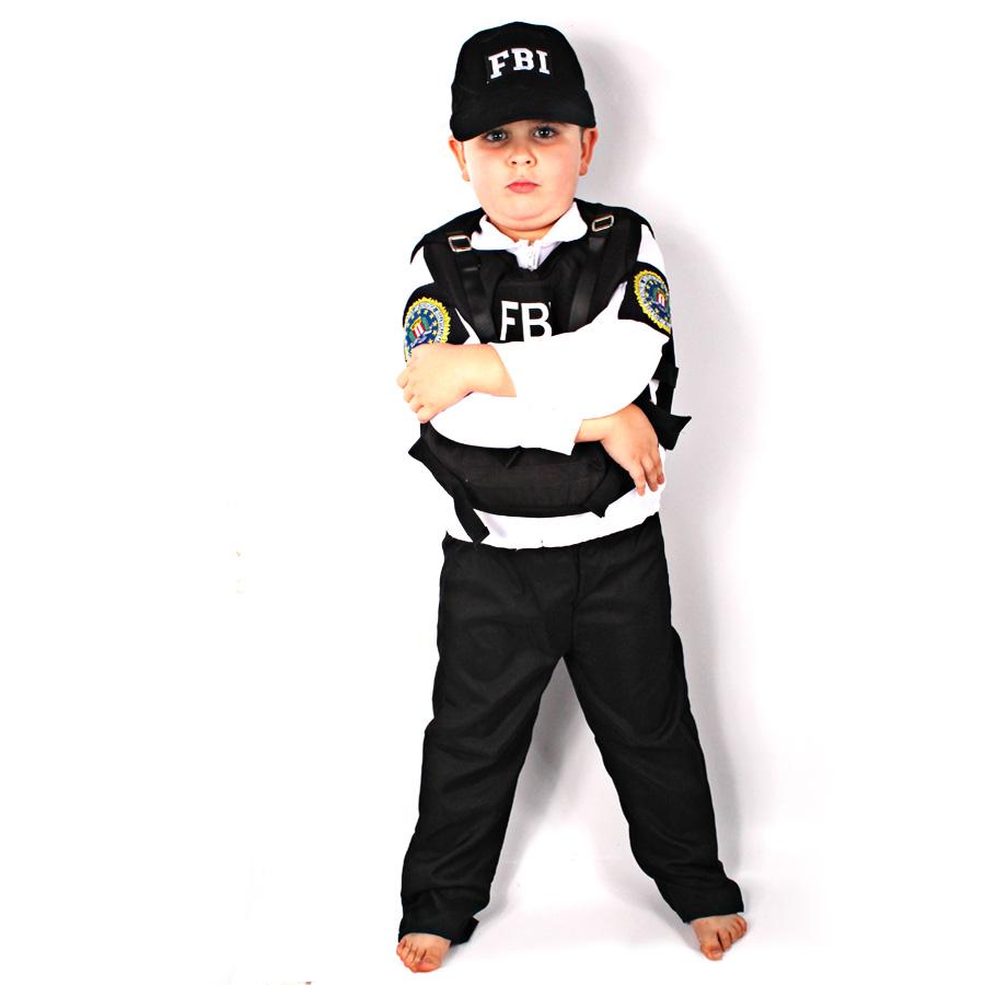Fantasia Infantil Agente Fbi