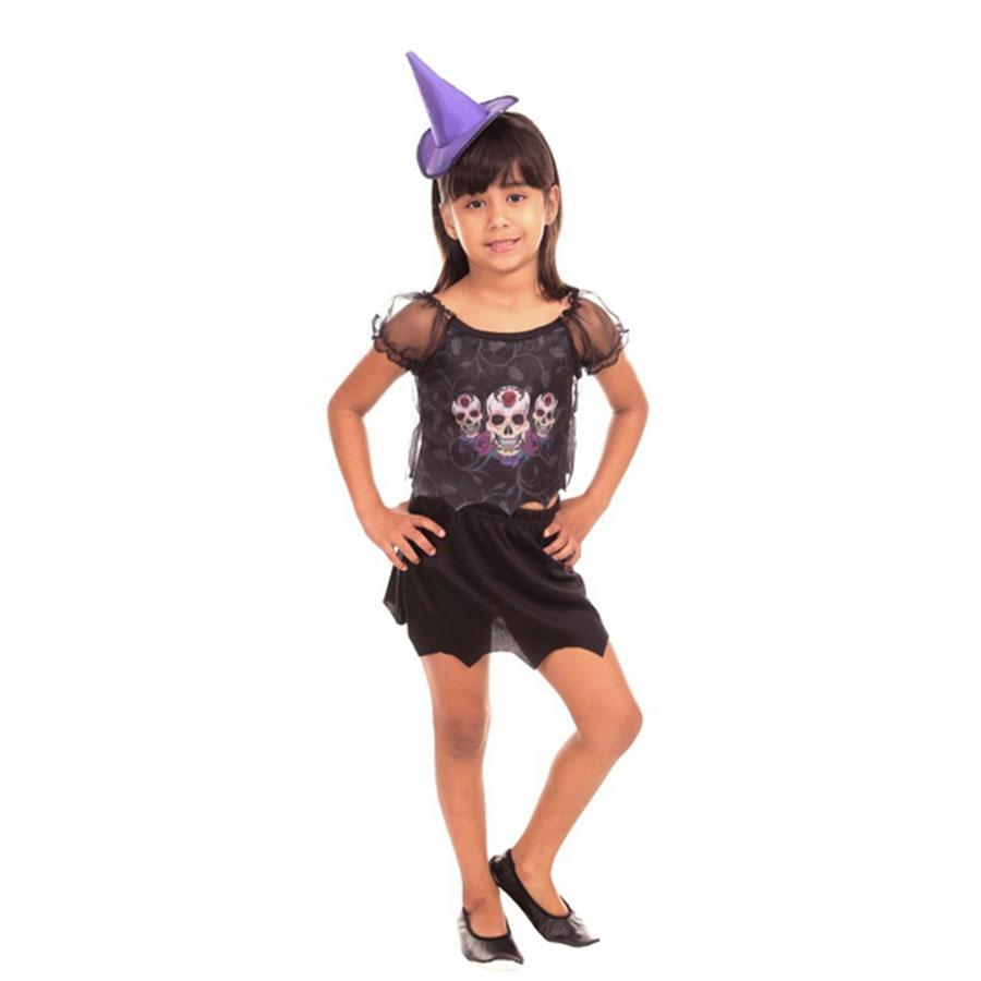 Fantasia Infantil Bruxa Bianka