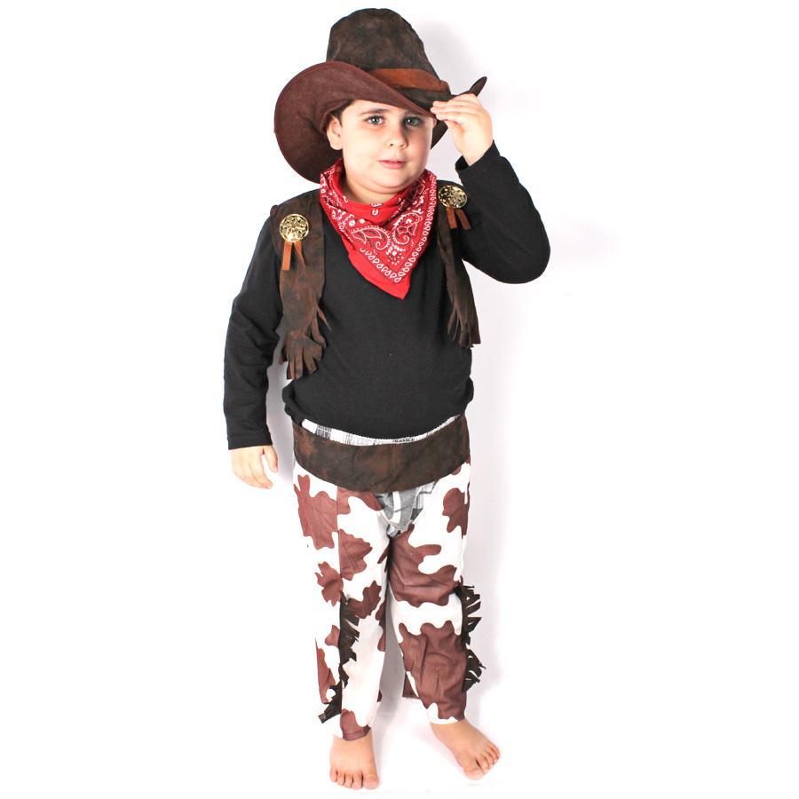 Fantasia Infantil Cowboy