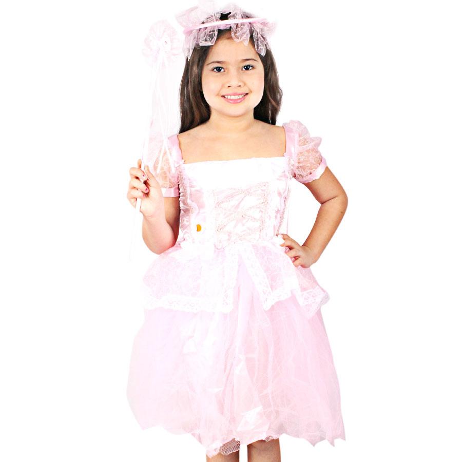 Fantasia Infantil Princesa Brilhante
