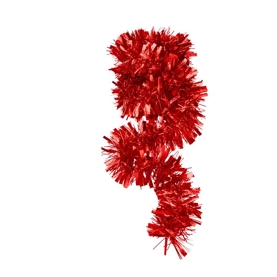 Festão Vermelho 5 Camadas Magia Unidade