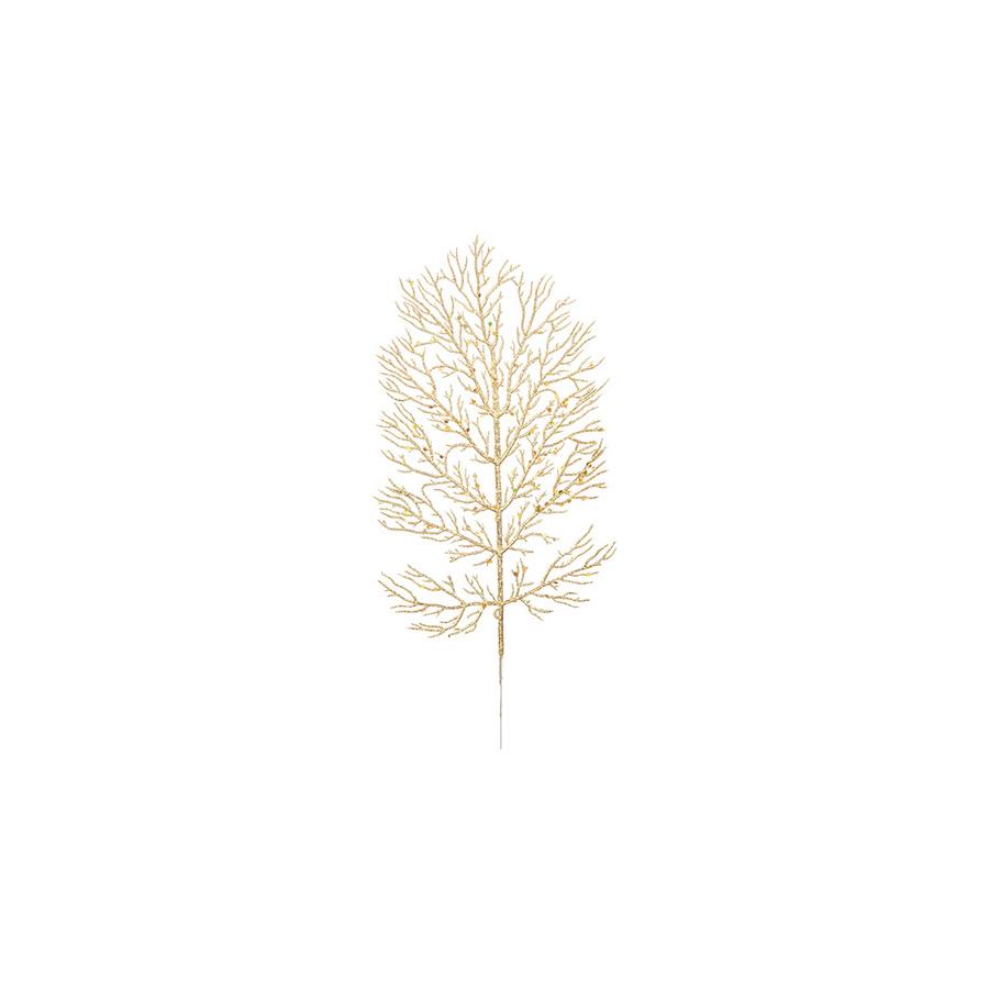 Folha Alga Dourada Milena 37Cm Unidade