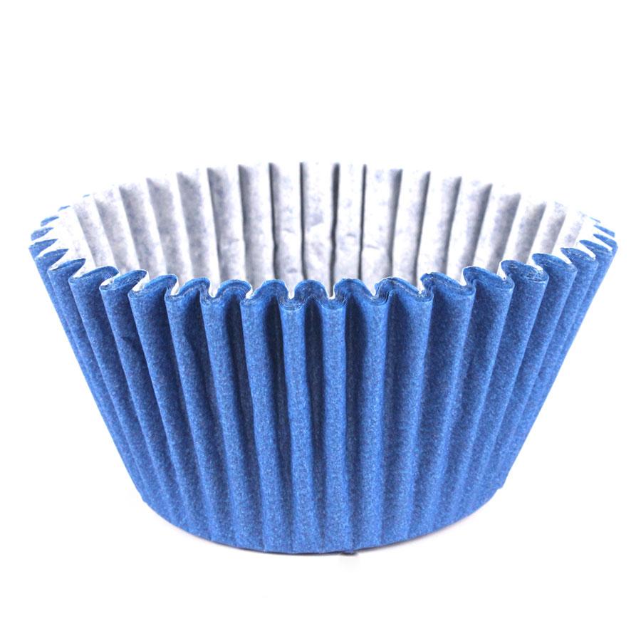 Forminha Cupcake Azul Royal 45Un