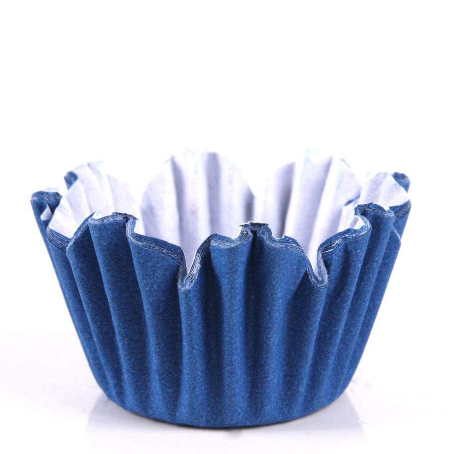Forminha Flor Nº5 Azul Royal 100Un