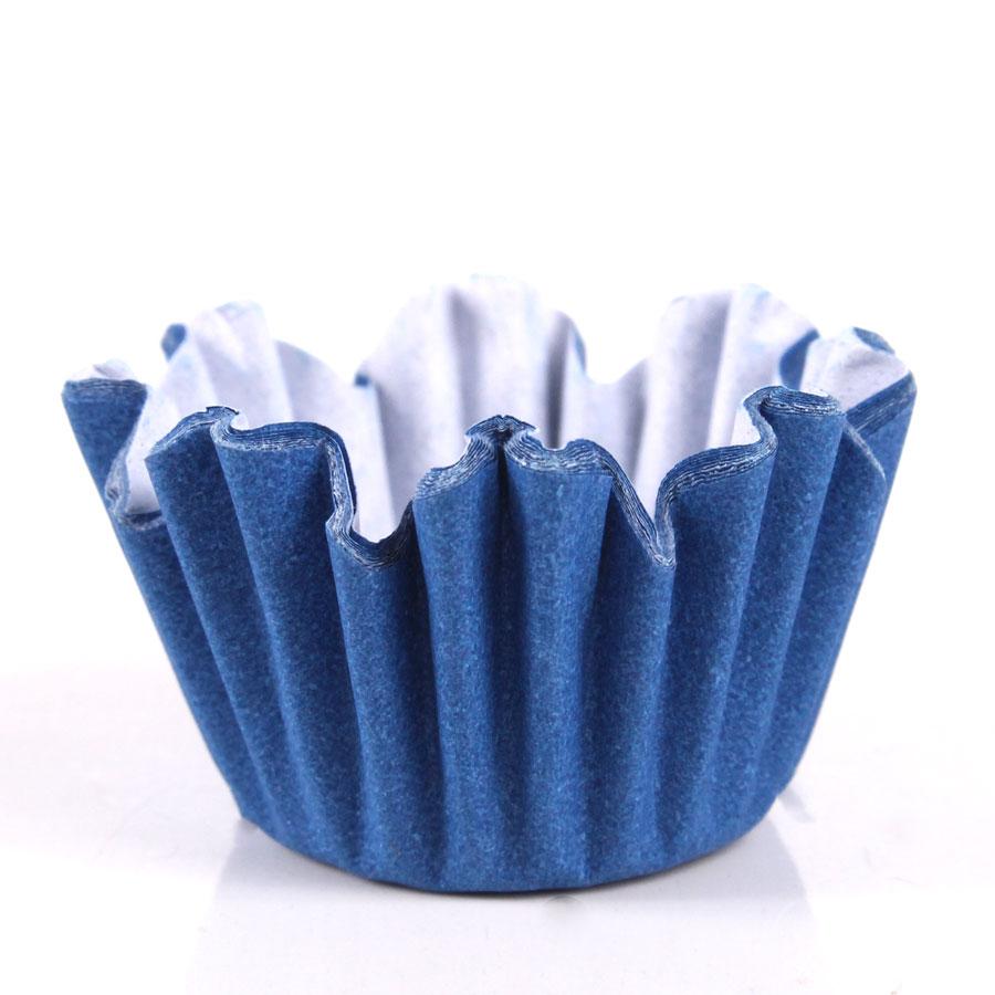 Forminha Flor Azul Royal Nº6