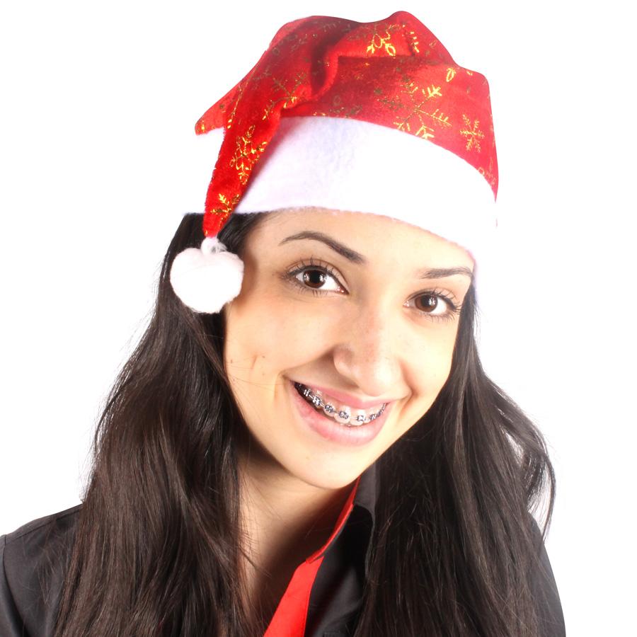 Gorro Papai Noel Simples