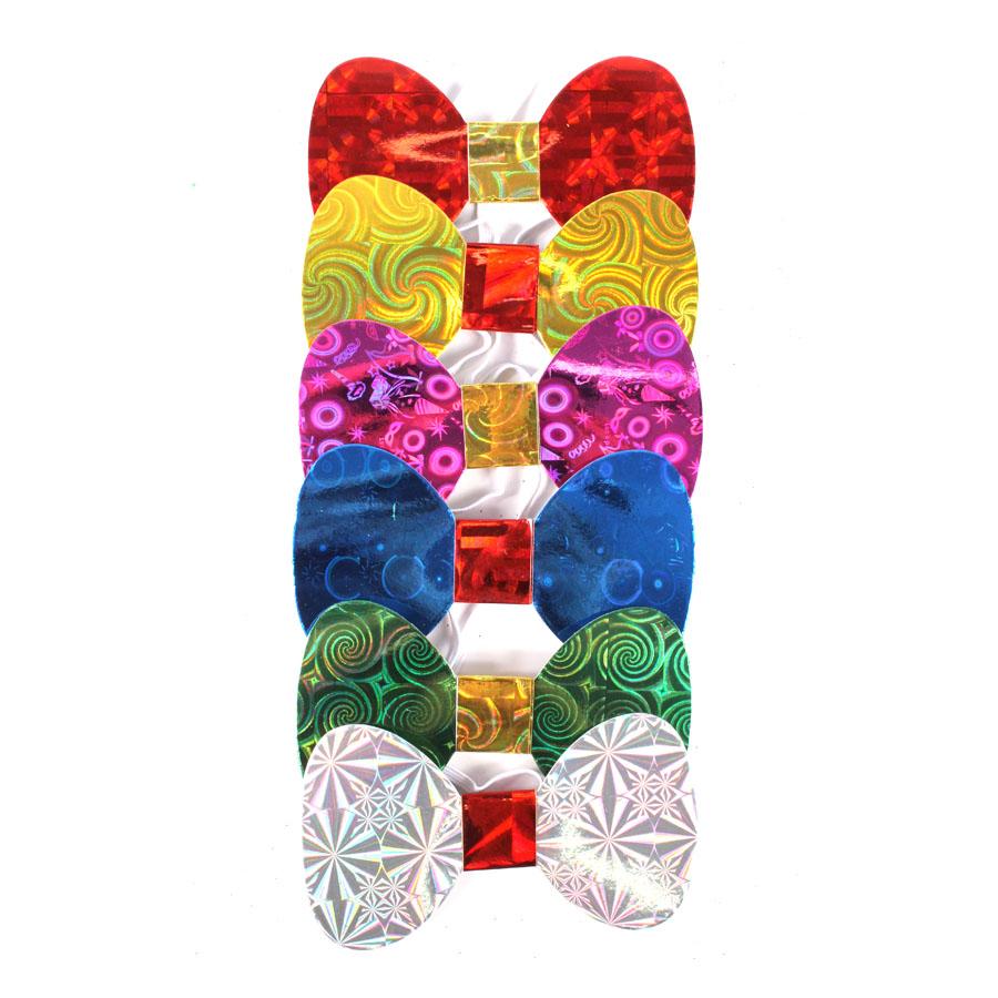 Gravata Borboleta Holográfica