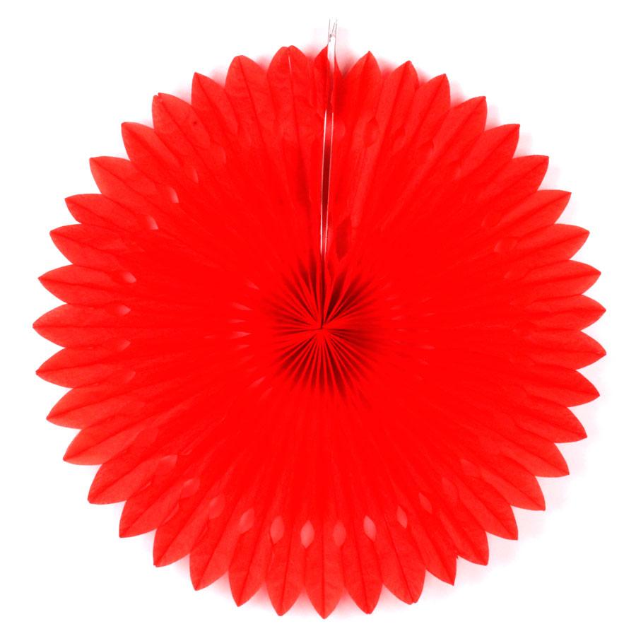 Guirlanda De Papel Girassol Vermelha