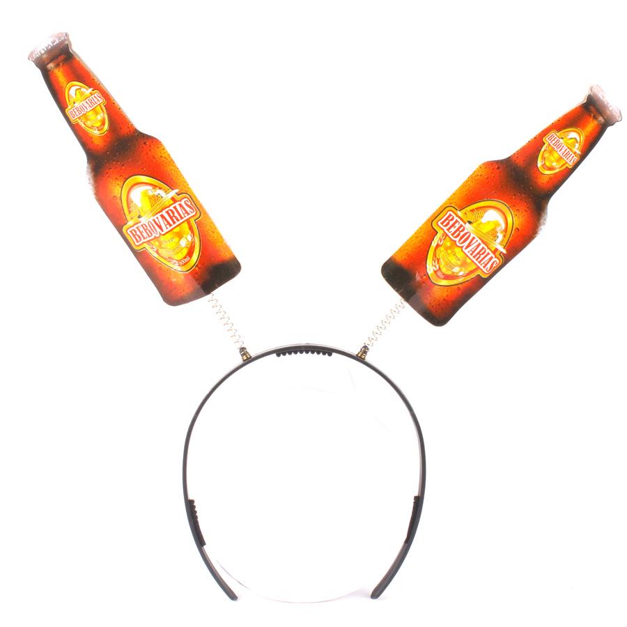 Kit 12 Tiaras Garrafa De Cerveja