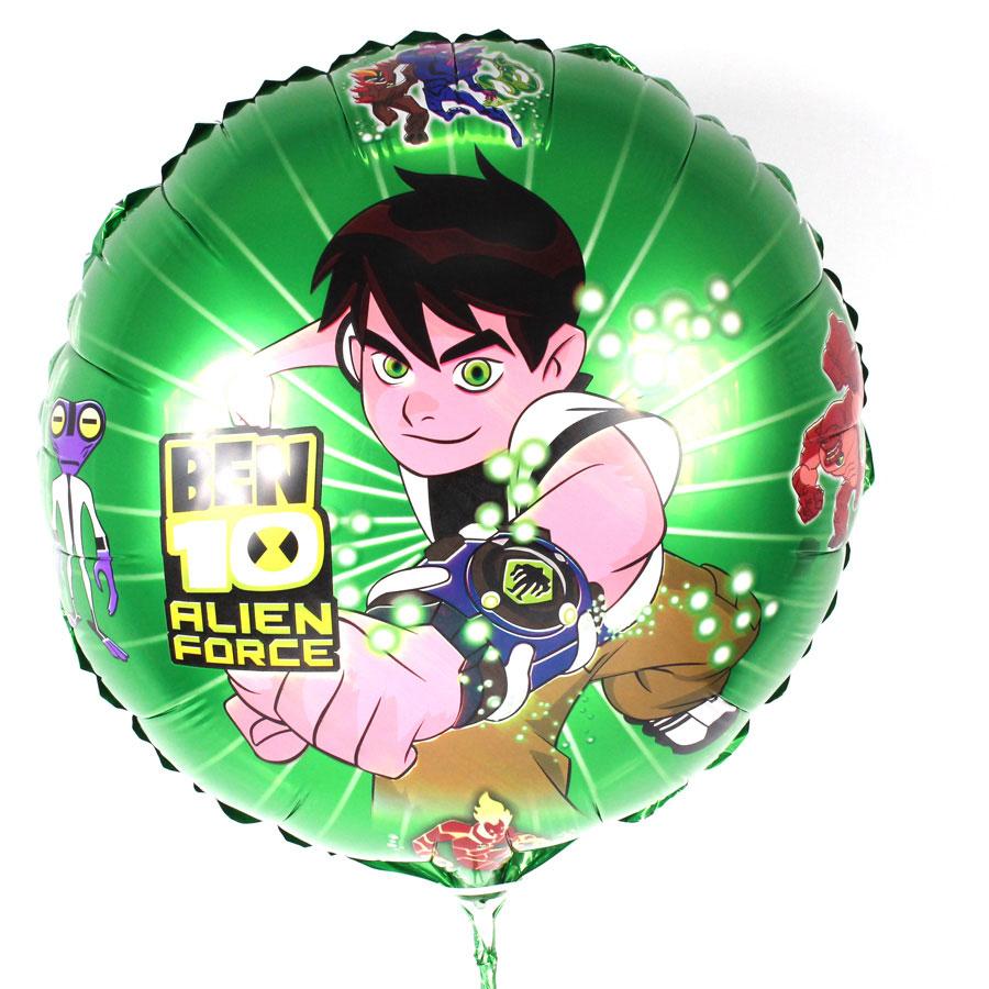 Kit 20 Balões Metalizados Ben 10 - Desenho Animado