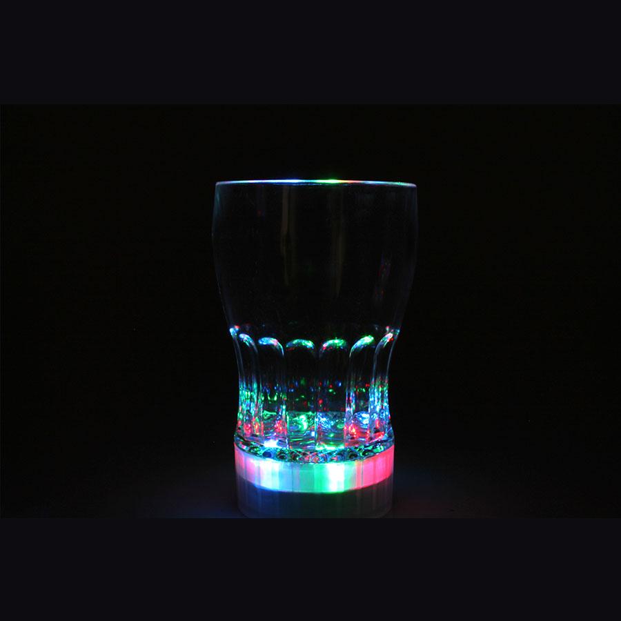 Kit 4 Copo Pisca + 4 Enfeite De Mesa + 100 Pulseiras Neon