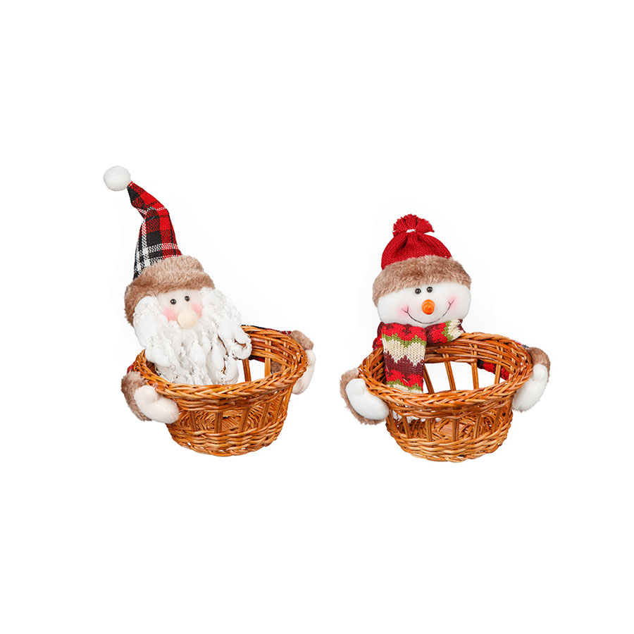 Kit Cesta Noel E Neve Country 2Un