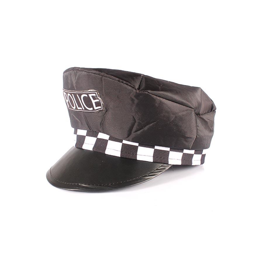 Kit Com 15 Quepes Policial Boina Farda Fantasias Festas