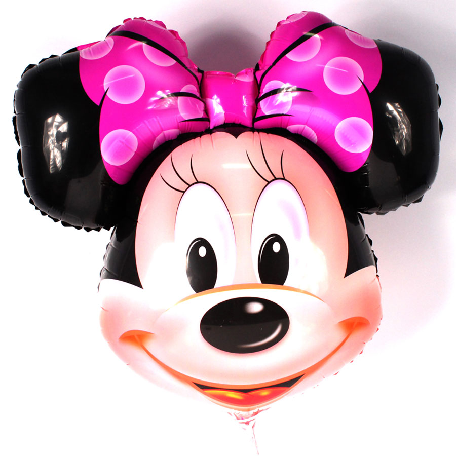 Kit Com 30 Balões Metalizados Minnie 50Cm