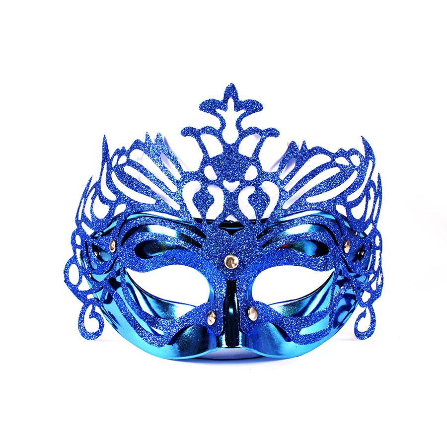 Kit Com 60 Máscaras Venezianas Luxo - Cores Sortidas