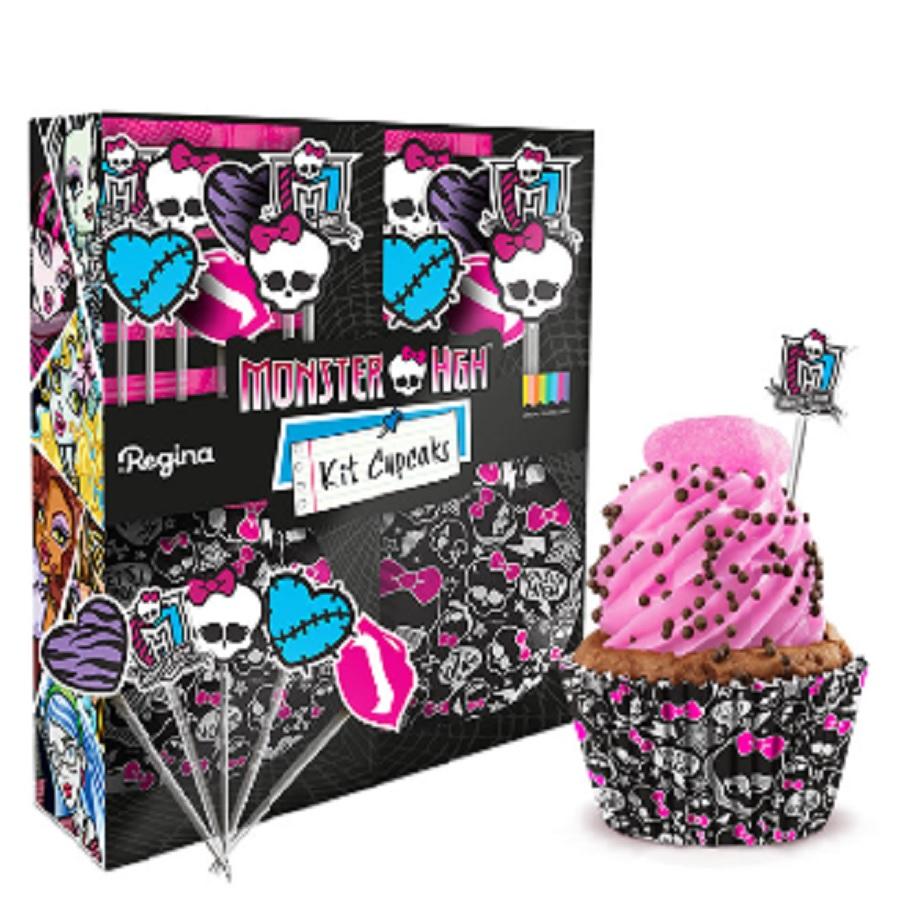 Kit Cupcake Monster High 30Un
