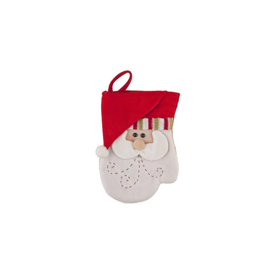 Luva Papai Noel 25Cm Magia Unidade
