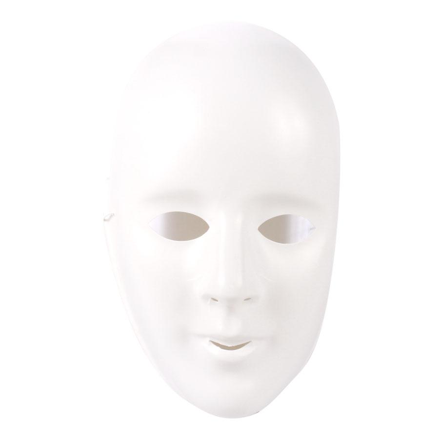 Máscara Plástica Branca