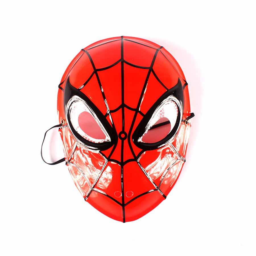 Máscara Plástica Homem Aranha